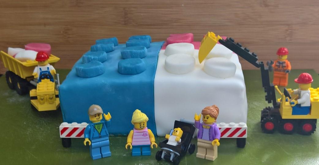 Lego verjaardagstaart