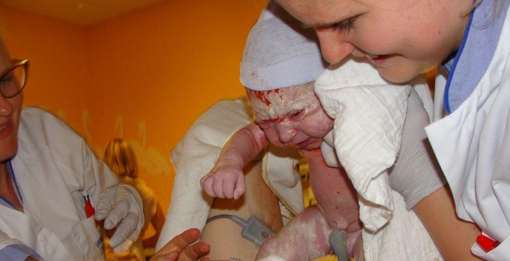 Hoe de bevalling van onze kleine meid verliep