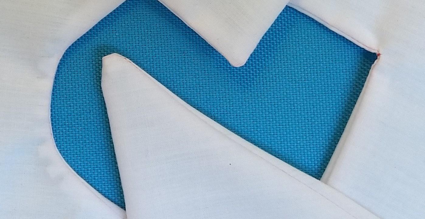 hoeken en bochten naaien