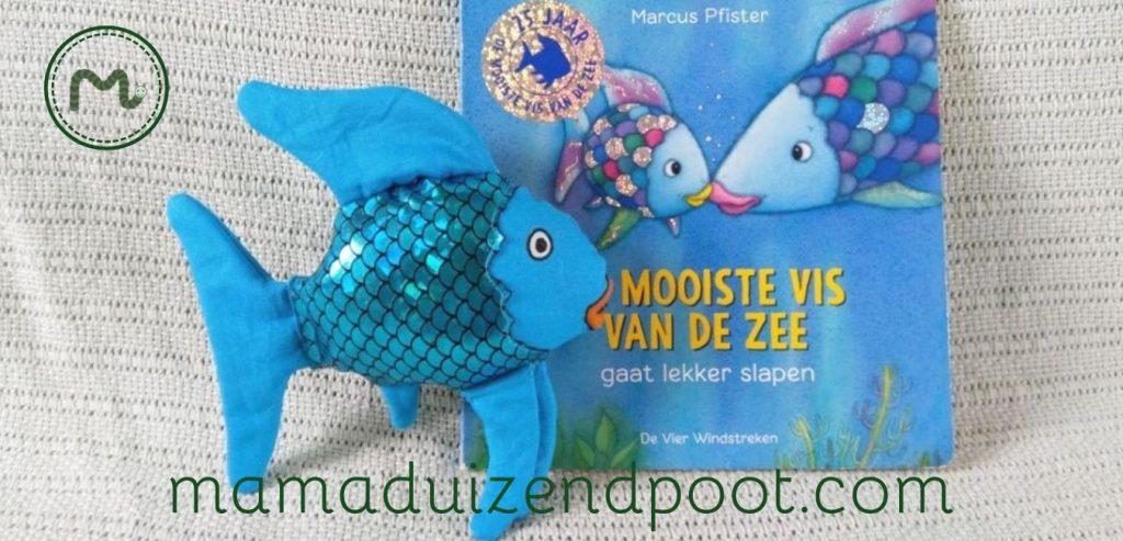 Knuffel van Regenboog uit 'De mooiste vis van de zee'
