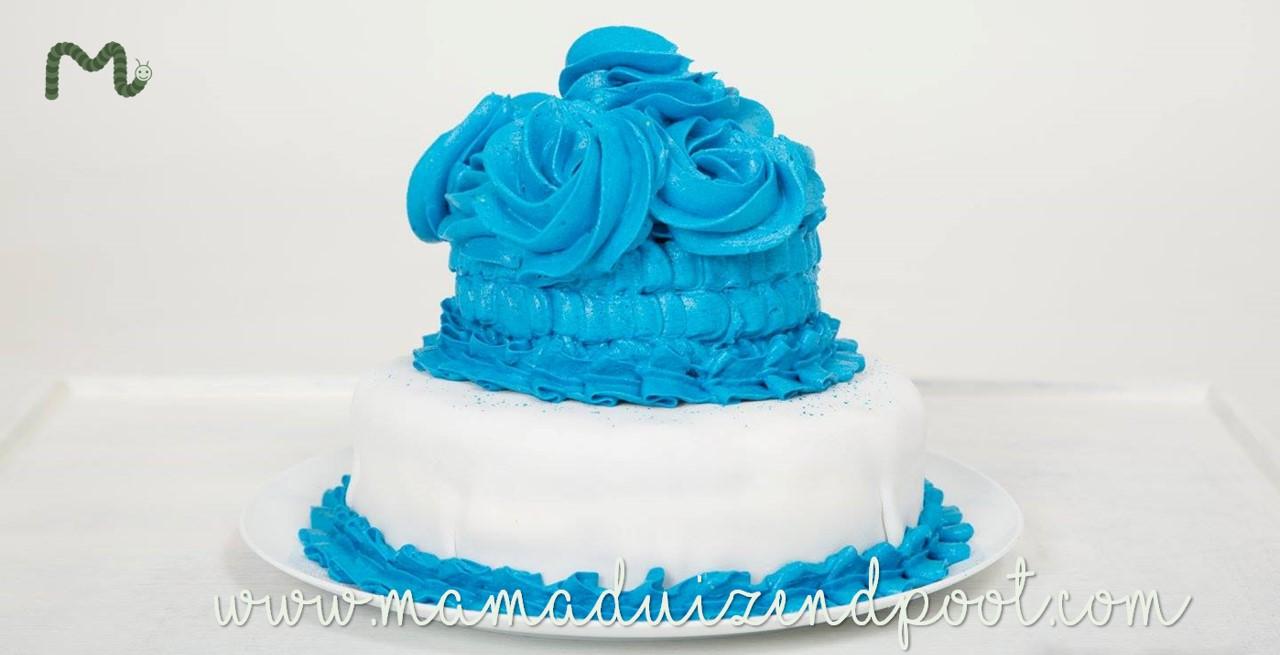 taart voor de cakesmash