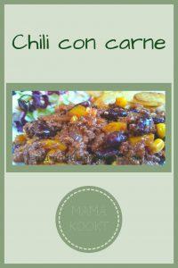 Pinterest - chili con carne