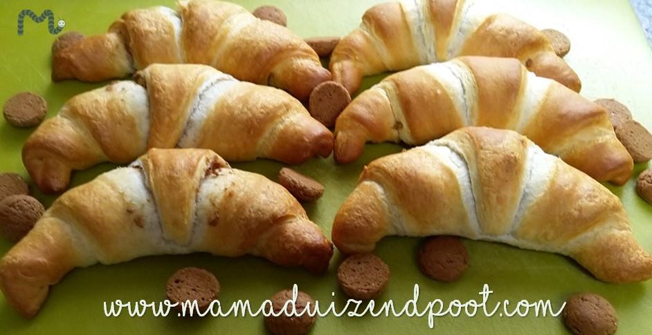 Pepernoten croissantjes