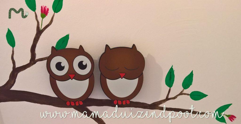 Bomen als muurdecoratie