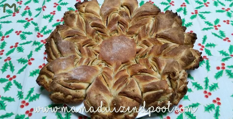 Brood in de vorm van een ster