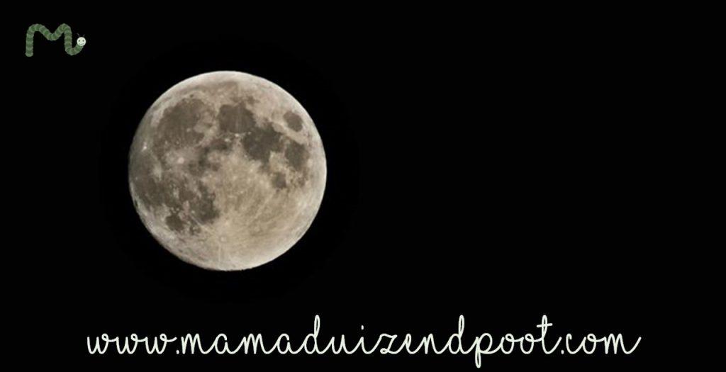 De invloed van de volle maan