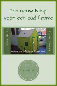 Pinterest Een nieuw huisje voor een oud frame