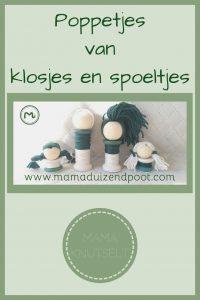 Pinterest - poppetjes van klosjes en spoeltjes