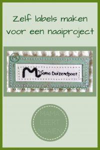 Pinterest - zelf labels maken