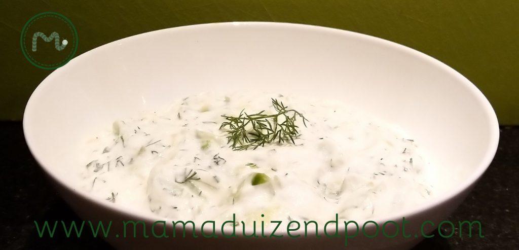 Tzatziki, een frisse Griekse saus