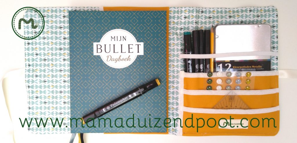 Een Bullet journal organizer