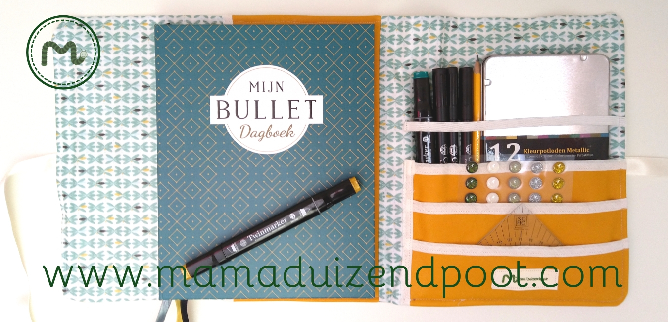 Bullet journal organizer