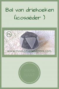 Pinterest - Bal van driehoeken (icosaëder )