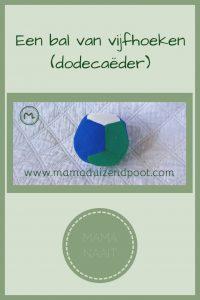 Pinterest - Een bal van vijfhoeken (dodecaëder)