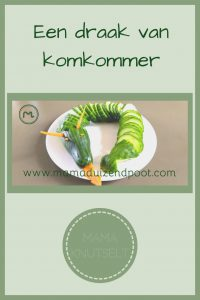Pinterest - draak van komkommer
