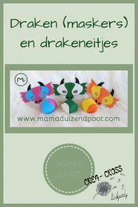Pinterest - draken (maskers)