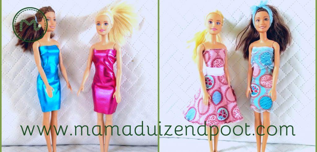 Simpele kleren voor Barbie