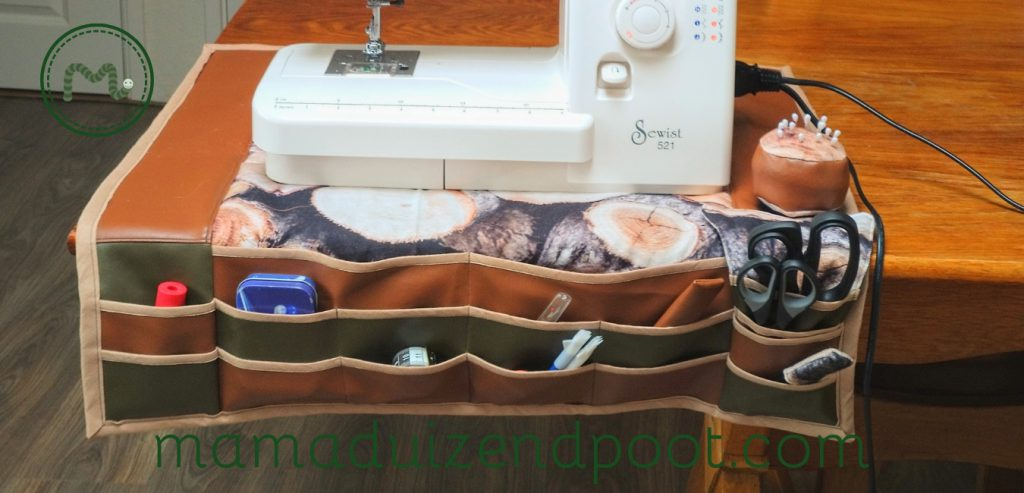 Een organizer voor de naaihulpjes