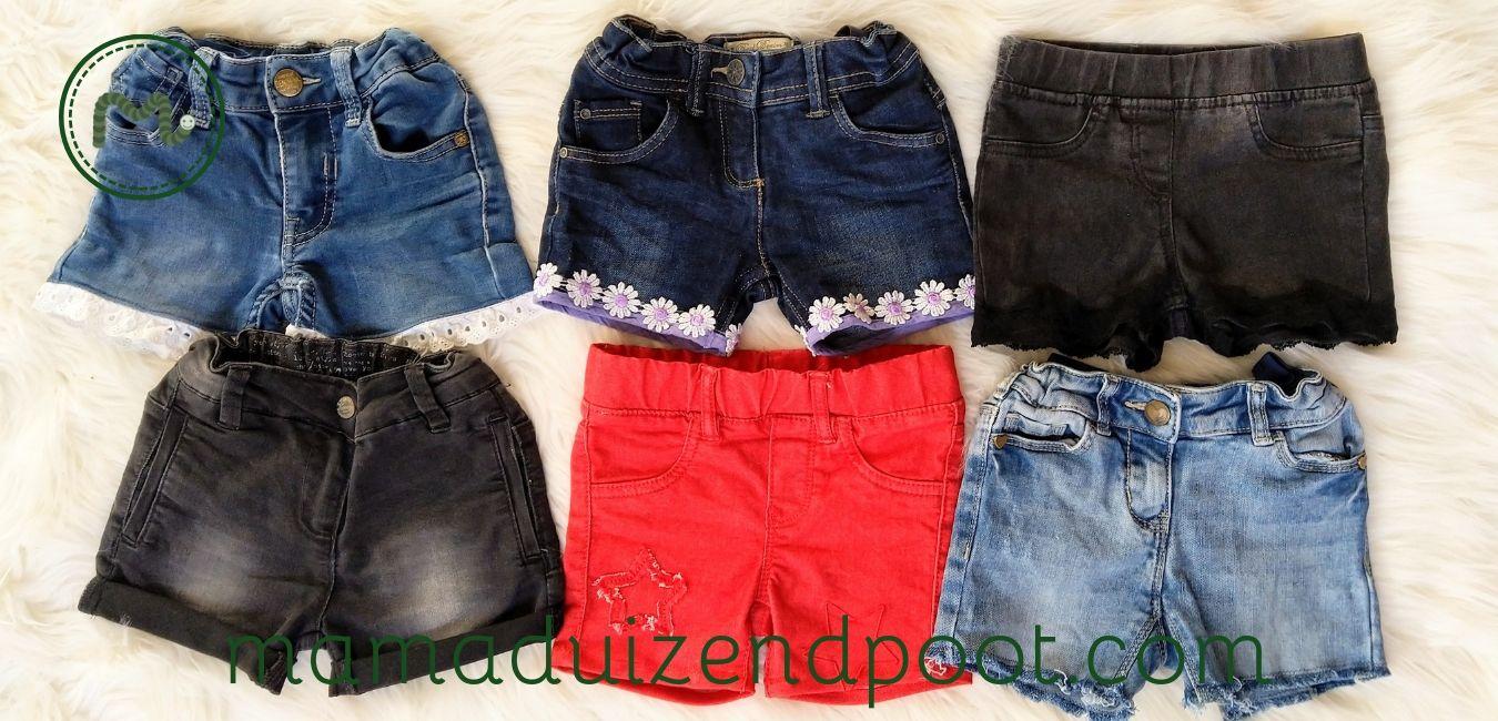 van spijkerbroek naar korte broek 1 - Kinder Korte Broek Zelf Maken