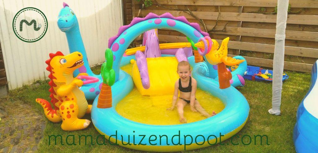 Het dinoland zwembad van Intex