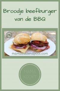 Pinterest - Broodje beefburger van de BBQ
