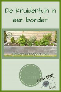 Pinterest - De kruidentuin in een border