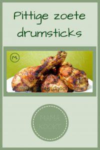 Pinterest - Pittige zoete drumsticks