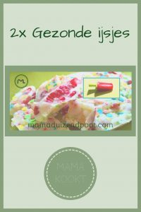 Pinterest - gezonde ijsjes