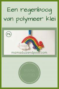 Pinterest - regenboog van polymeer klei