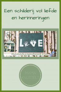 Pinterest - schilderij vol liefde en herinneringen