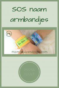 Pinterest - sos naam armbandjes