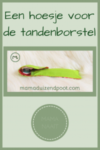 Pinterest - hoesje voor de tandenborstel
