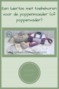 Pinterest - Een luiertas met toebehoren voor de poppenmoeder (of poppenvader)