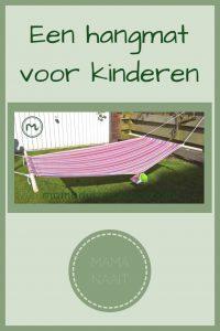 Pinterest - hangmat voor kinderen