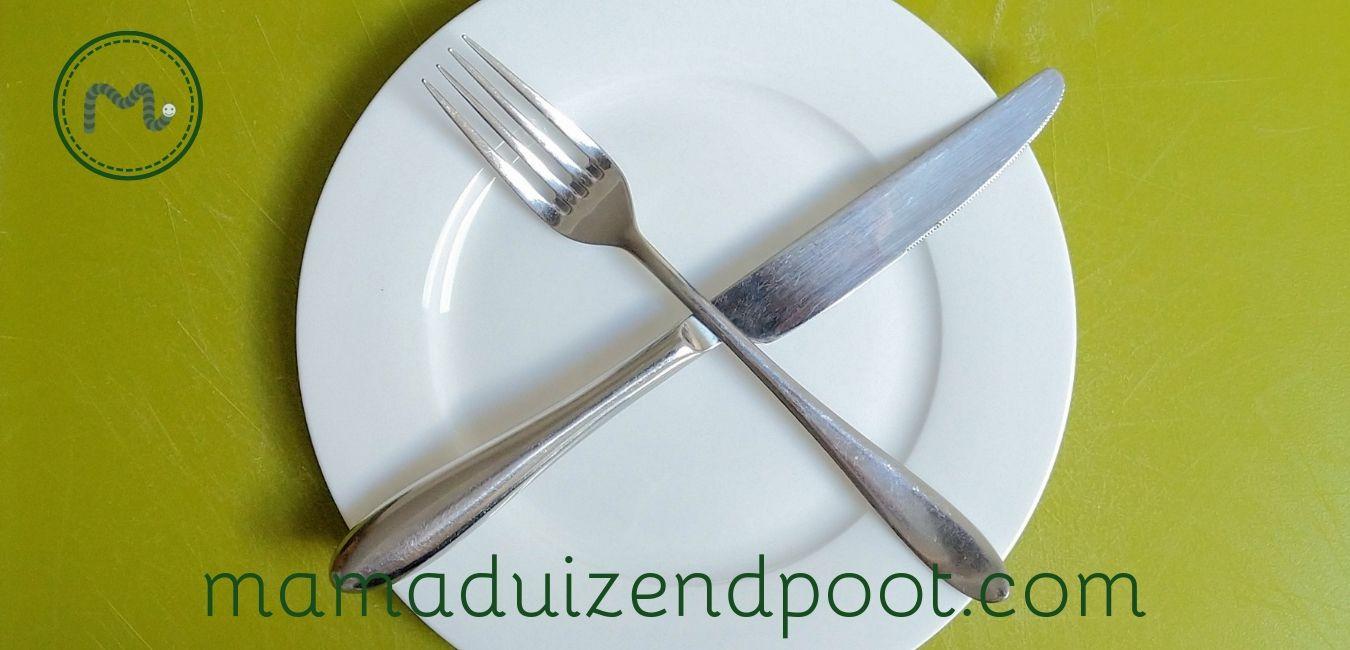 eten tijdens een hittegolf