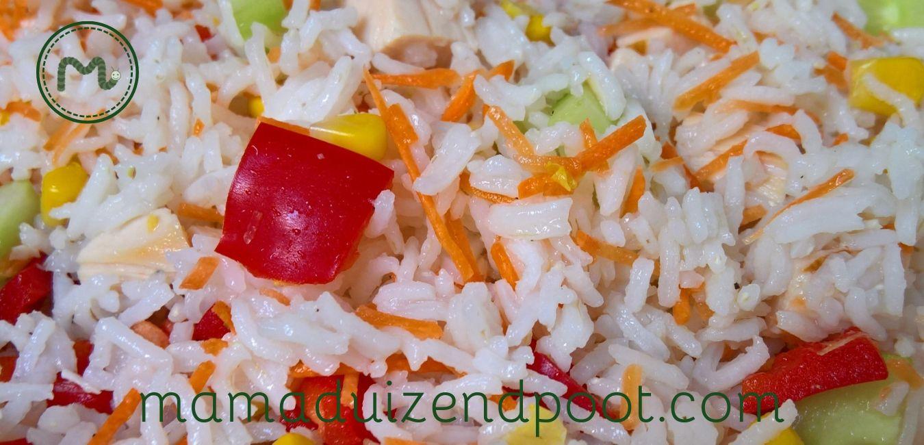 rijst salade