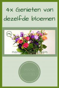 Pinterest - 4x genieten van dezelfde bloemen
