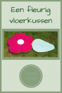 Pinterest - Een fleurig vloerkussen