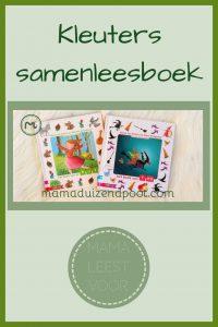 Pinterest - Kleuters samenleesboek