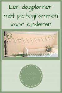 Pinterest - dagplanner met pictogrammen