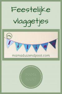 Pinterest - feestelijke vlaggetjes