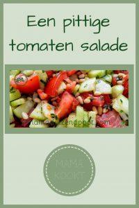 Pinterest - pittige tomaten salade