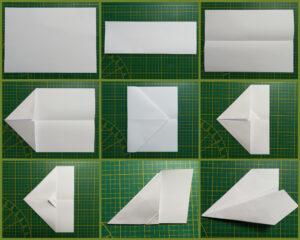 vliegtuigjes vouwen instructie (origami)