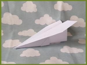 vliegtuigjes vouwen (origami)