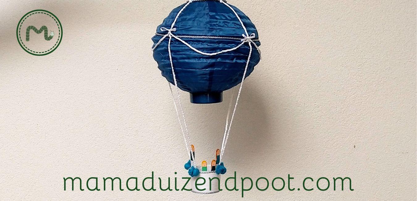 luchtballon van een lampion
