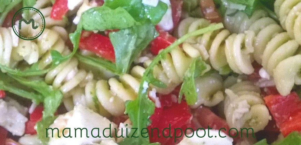 Een zomerse pasta salade