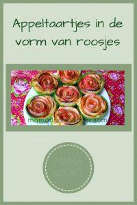 Pinterest - Appeltaartjes in de vorm van roosjes