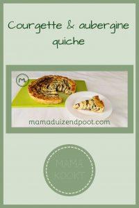 Pinterest - Courgette & aubergine quiche