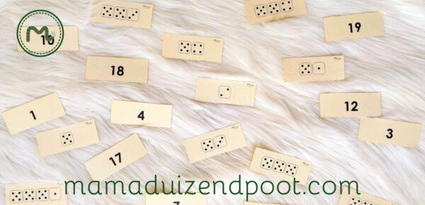rekenboom (cijfers en dobbelstenen)