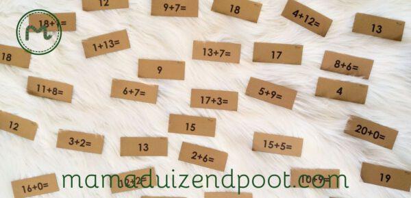 rekenboom (plussommen tot en met 20)